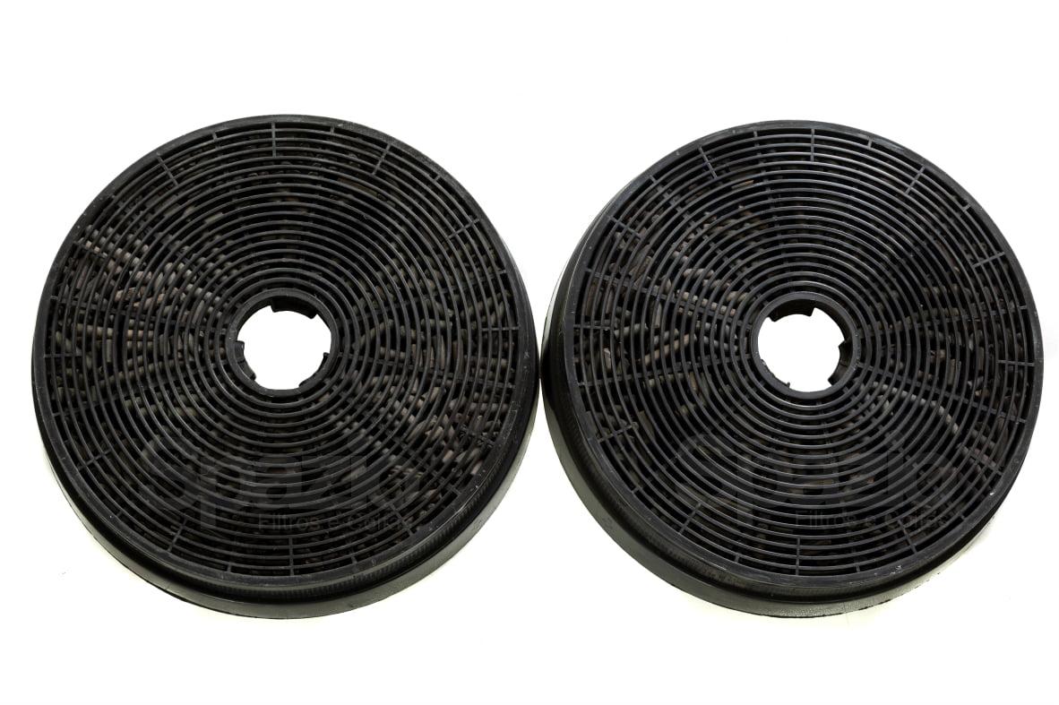 2 filtros de carvão 17,5cm coifas Tramontina