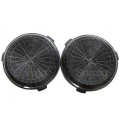 2 filtros de carvão para coifa Electrolux 90CIT