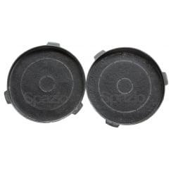2 filtros de carvão para coifas CATA modelos BIVOLT