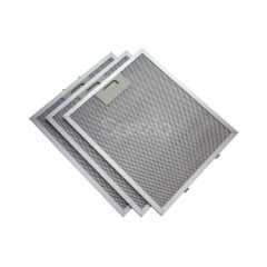 KIT 3 Filtros metálicos coifa Tramontina Prisma 90cm