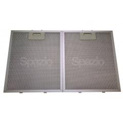 KIT 2 Filtros metálicos (26cm x 32cm) coifas CATA+2 Filtros de carvão 21cm